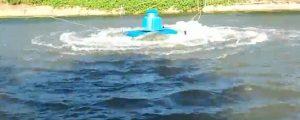 máy sục khí ao nuôi cá